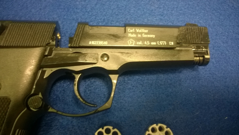 Umarex Walther CP88 .177  Air Pistols