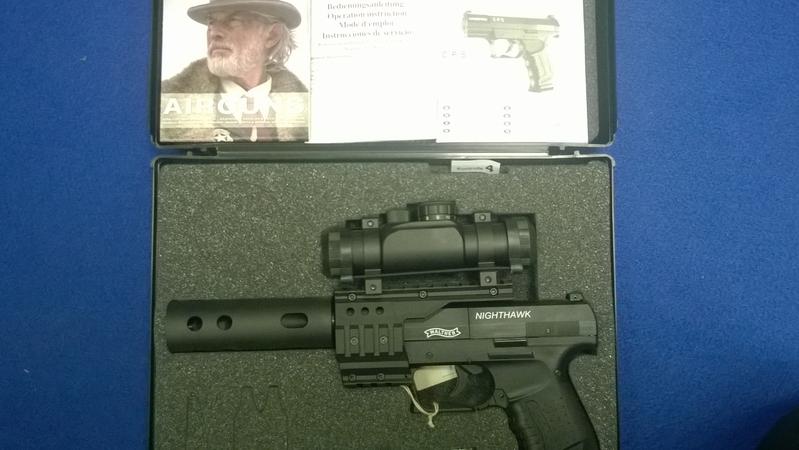 Umarex Walther Nighthawk .177  Air Pistols