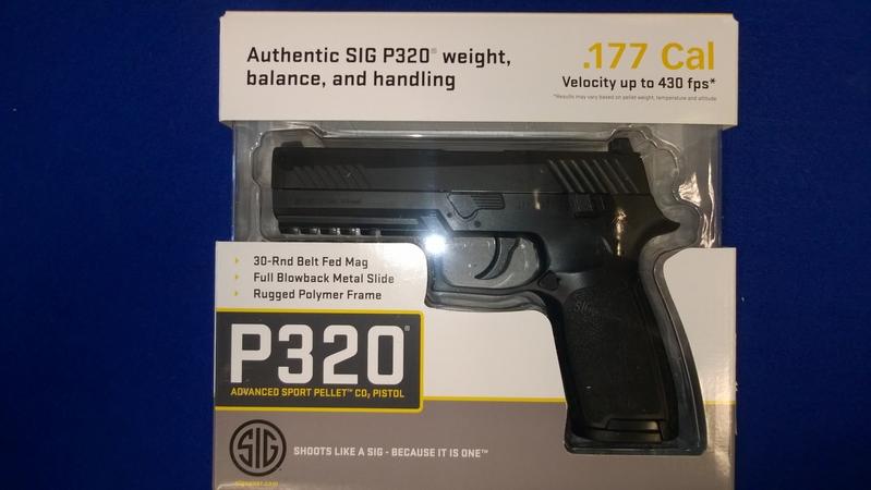 Sig Sauer P320 .177  Air Pistols