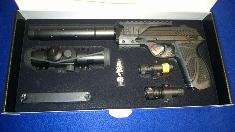 Gamo PT 85 Tactical .177  Air Pistols