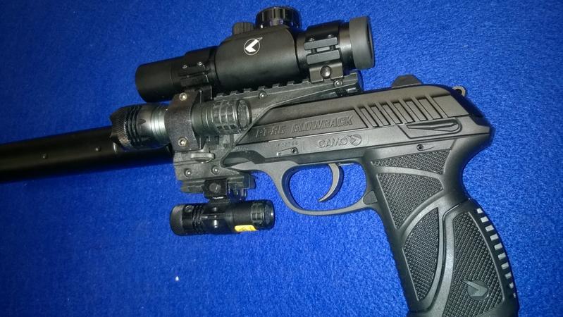 Gamo PT 85 Tactical .177  Air Pistols