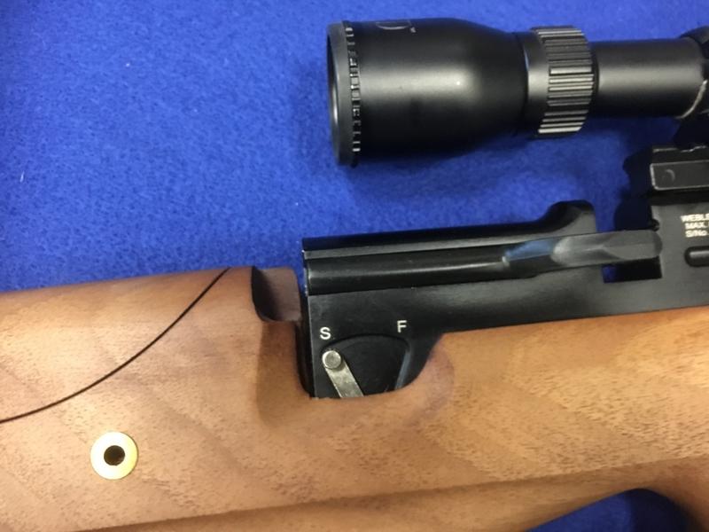 Webley / Webley & Scott mastiff 12 .22  Air Rifles