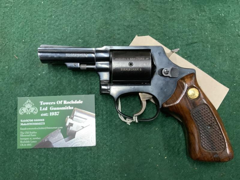 Taurus Accles & shelvoke .32 Humane Killers