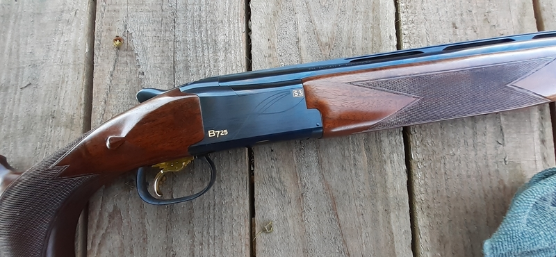 Browning B725 Sporter Black Edition 12 Bore/gauge  Over and under