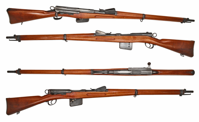 Schmidt Rubin 1889 Straight Pull 7.5 mm  Rifles