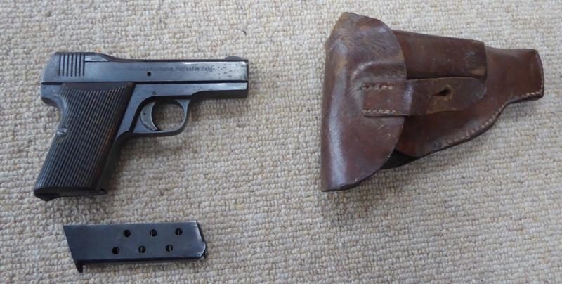 Becker & Hollander Self Loading Pistol .32  Semi Auto