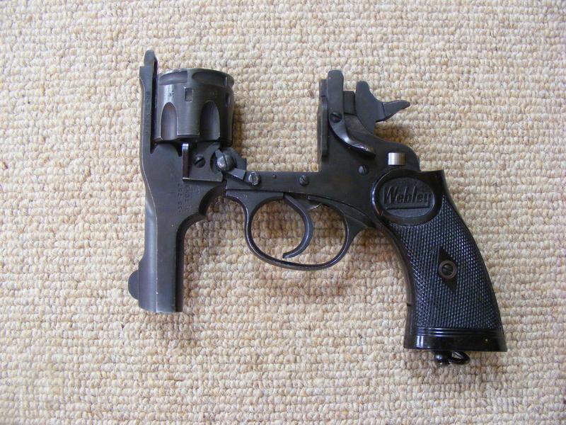 """Webley / Webley & Scott 3"""" Revolver  .38  Revolver"""
