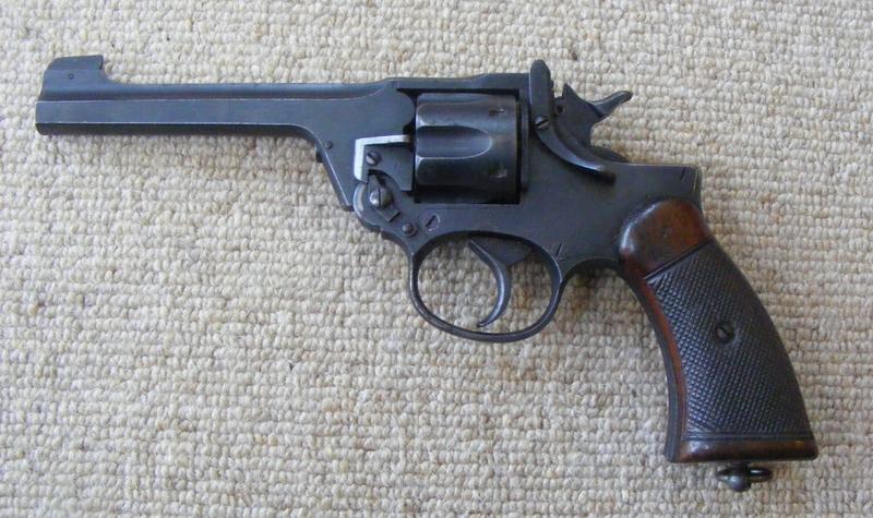 Enfield Mk 1 Revolver   .38 S&W Revolver