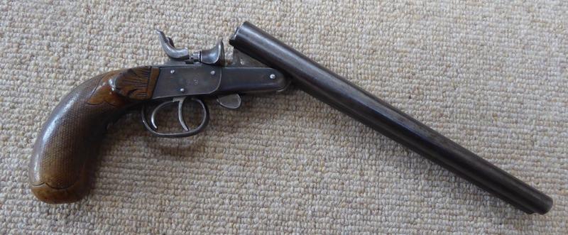 Belgian Made Side by Side Ratting Pistol 410 Bore/gauge  Side By Side