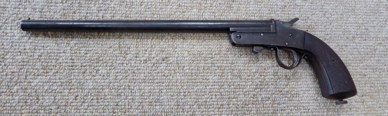 Belgian Made Single Barrel Ratting Pistol 9mm Shotgun Cartridge  Single Barrel