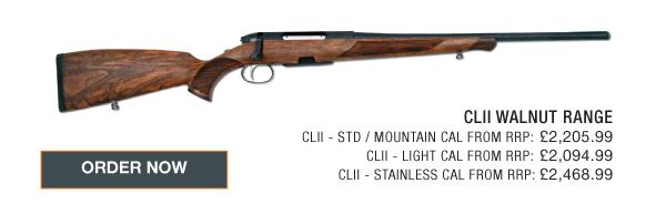 Steyr Mannlicher CLII Mountain Bolt Action None  Rifles