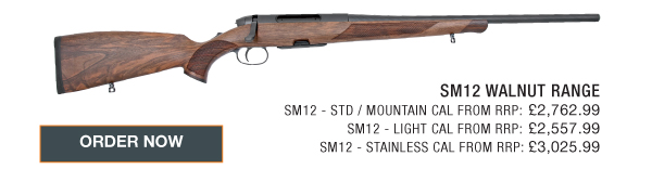Steyr Mannlicher SM12 Bolt Action None  Rifles