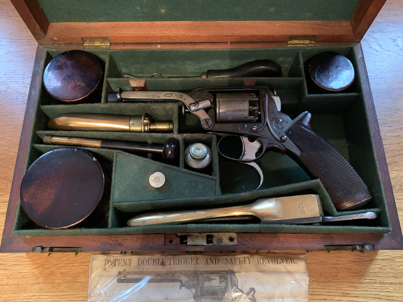 W A Beckwith .32 Tranter .32  Muzzleloader
