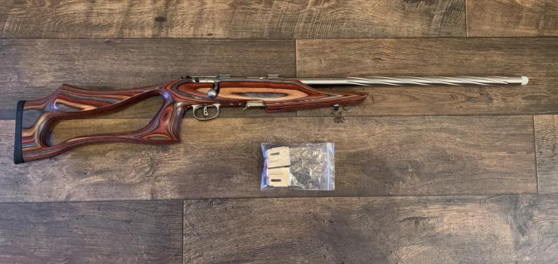 savage 93R17 Bolt Action .17  Rifles