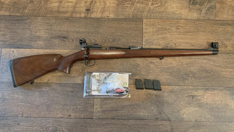 cz 452 stutzen full wood Bolt Action .22  Rifles