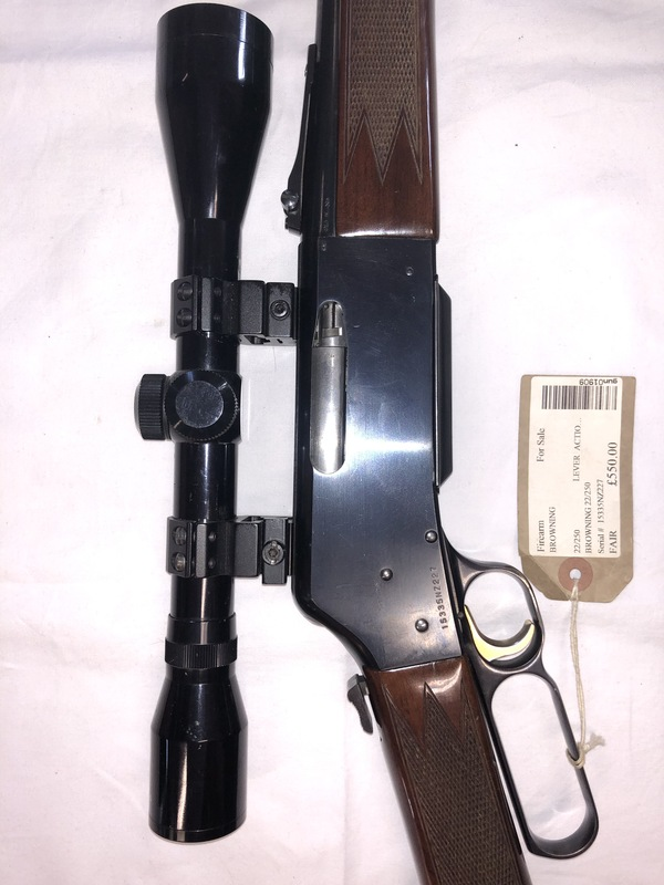 Browning  Lever action 22-250  Rifles
