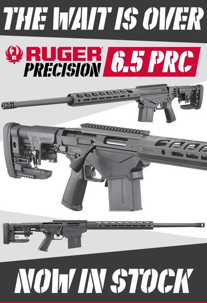 Ruger Precision Bolt Action 6.5 mm  Rifles