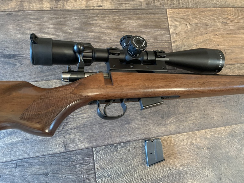 cz 452 American Bolt Action .17 .17 HMR Rifles