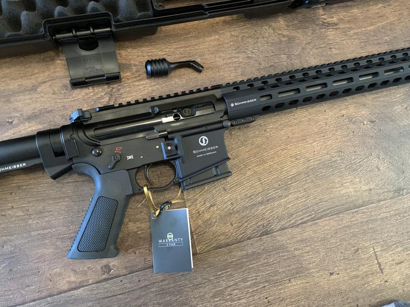 Schmeisser SP M5FL 16 Straight Pull .223  Rifles