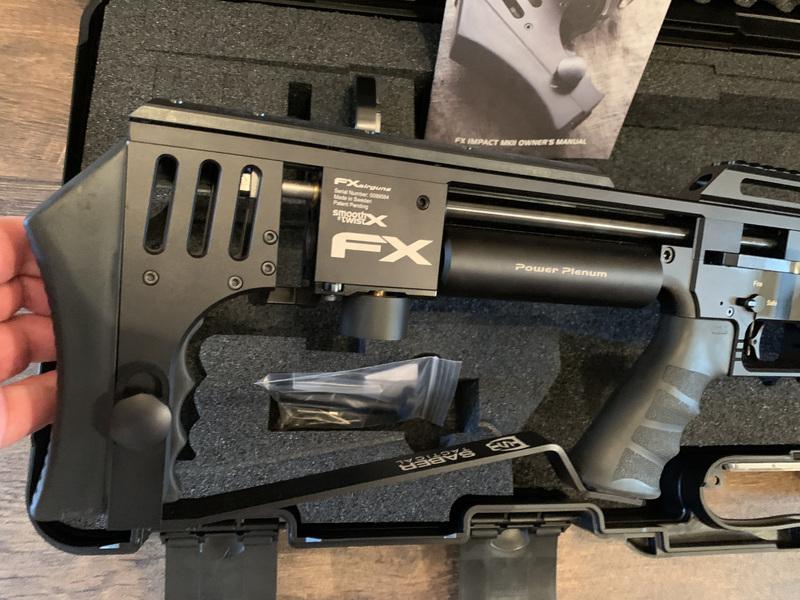 FX Impact Mk II .30  Air Rifles