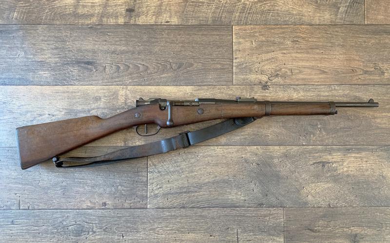 Berthier 1892 Artillery carbine  Bolt Action  8mm Lebel Rifles