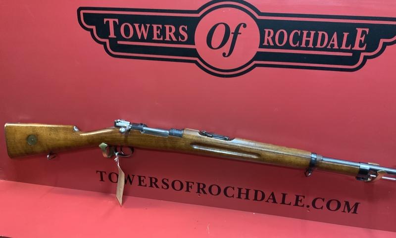 Carl Gustafson  Bolt Action 6.5 mm  Rifles
