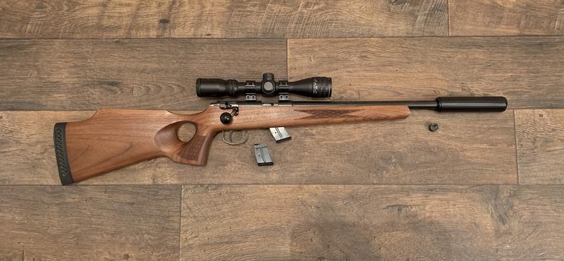 Anschutz 1417 Bolt Action .22  Rifles