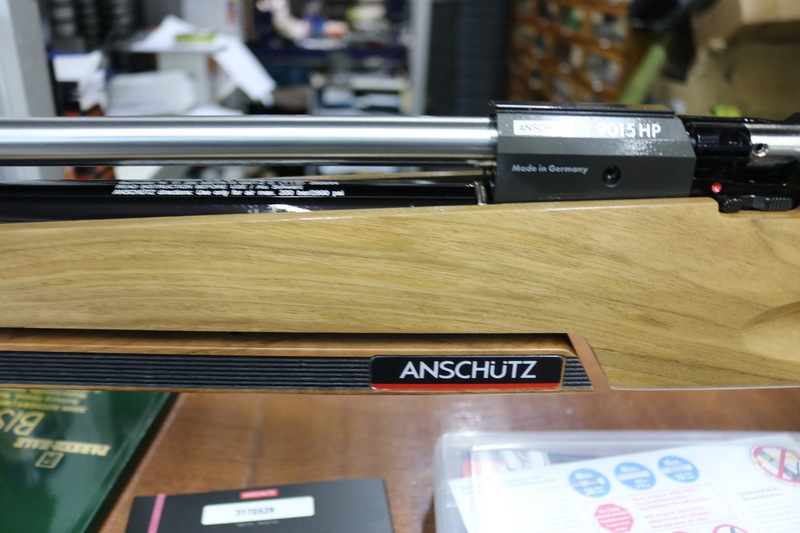 Anshutz 9015 AB .177  Air Rifles
