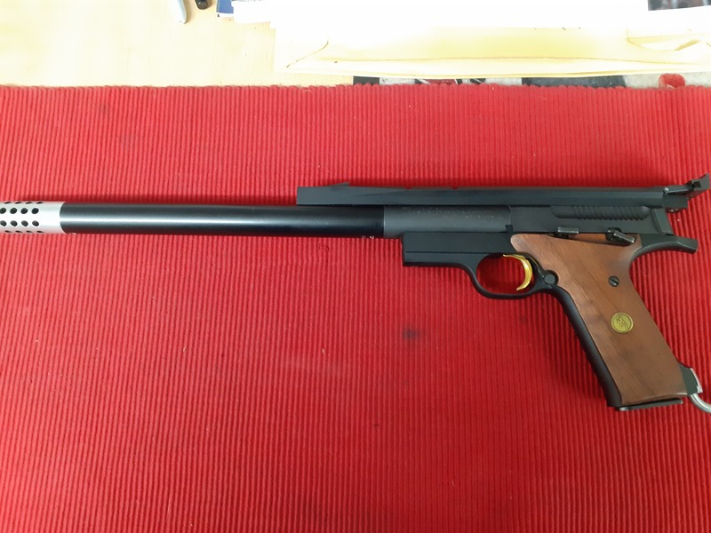 Browning BUCKMARK MATCH LIGHT WEIGHT .22  Long Barrel