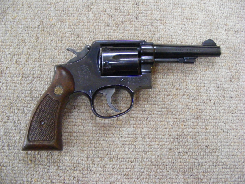 Smith & Wesson Model 10-7 .38 Humane Killers