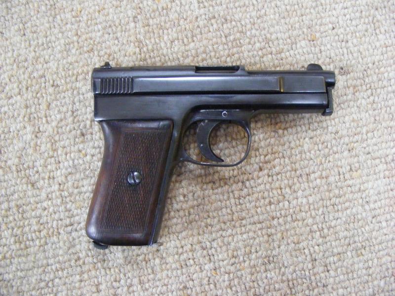 Mauser Model  1910 6.35mm / .25ACP  Semi Auto