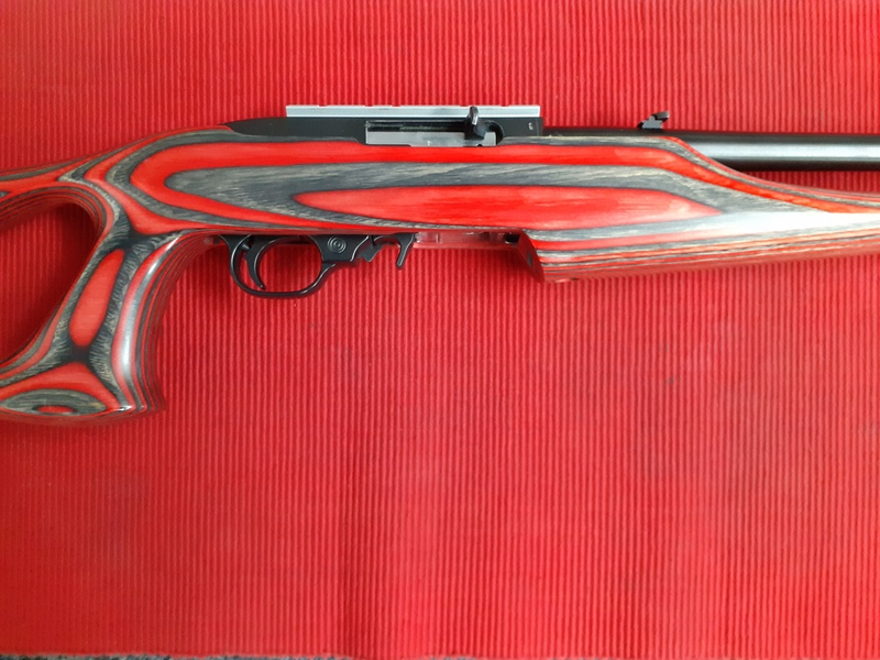 Ruger CUSTOM TARGET Semi-Auto .22  Rifles
