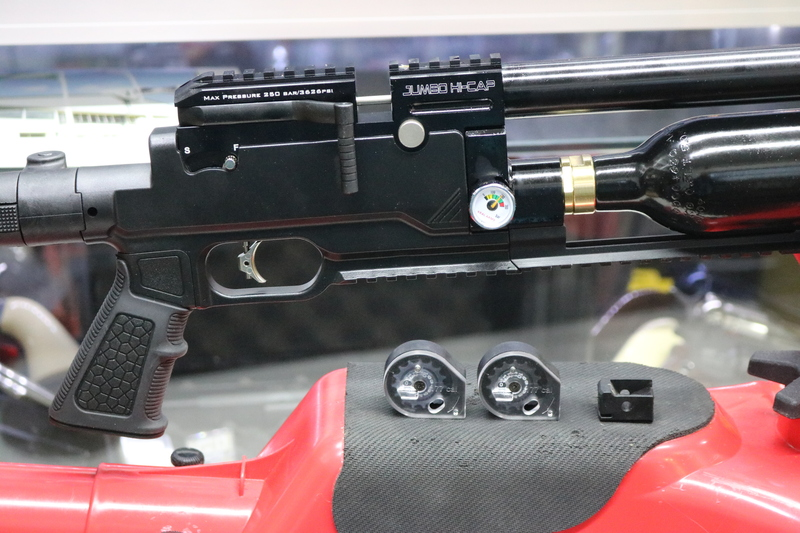 Kral JUMBO HI CAP .22  Air Rifles