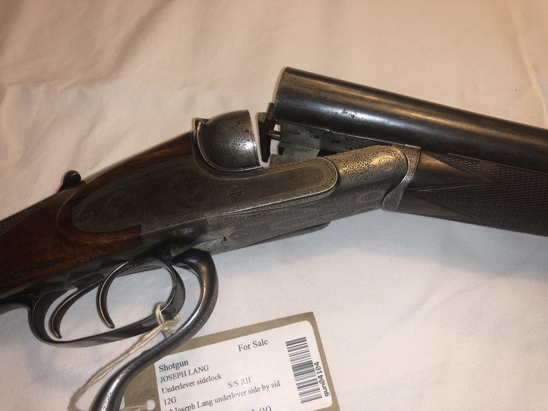 Joseph Lang & Sons Underlever 12 Bore/gauge  Side By Side