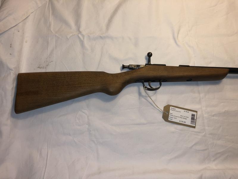 Webley & Scott Garden Gun  9mm Flobert  Single Barrel