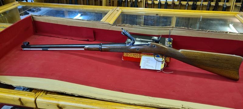 Pedersoli Springfield Trapdoor Officers Single Shot .45 70 Rifles