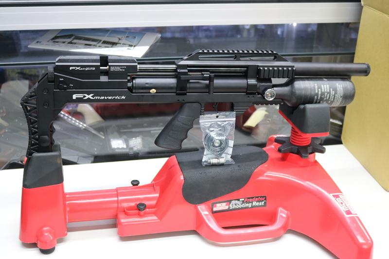 fx MAVERICK BLACK COMPACT   Air Rifles