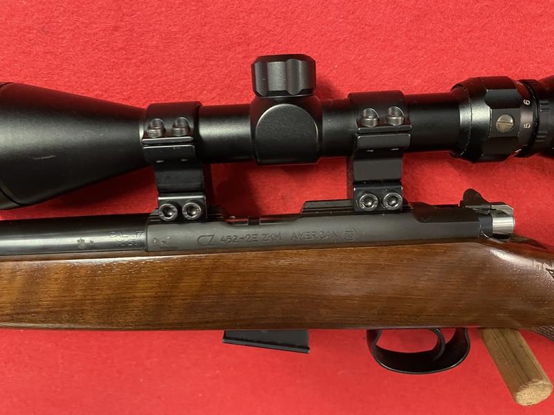 CZ 452 American  Bolt Action .17  Rifles