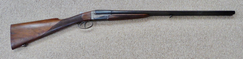 French Made Brevete SDGD Side by Side  16 Bore/gauge  Side By Side