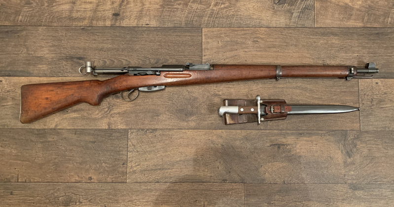 Swiss K31 Bolt Action  7.5x55 Rifles